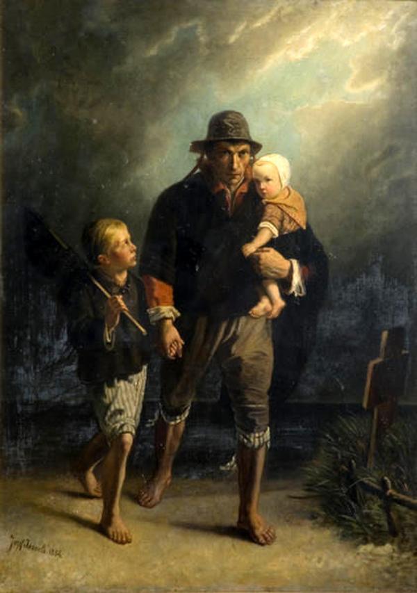Jozef Israels (1824~1911) Dutch painter
