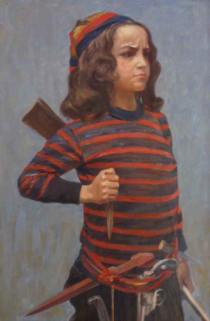 Johan Axel Gustav (1831-1913) Swedish painter.700
