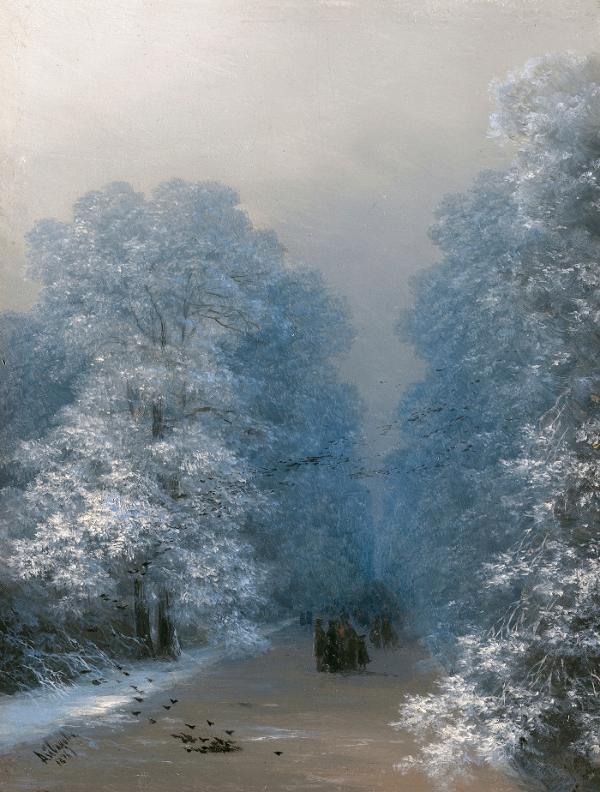 冬の花かたりー扉絵