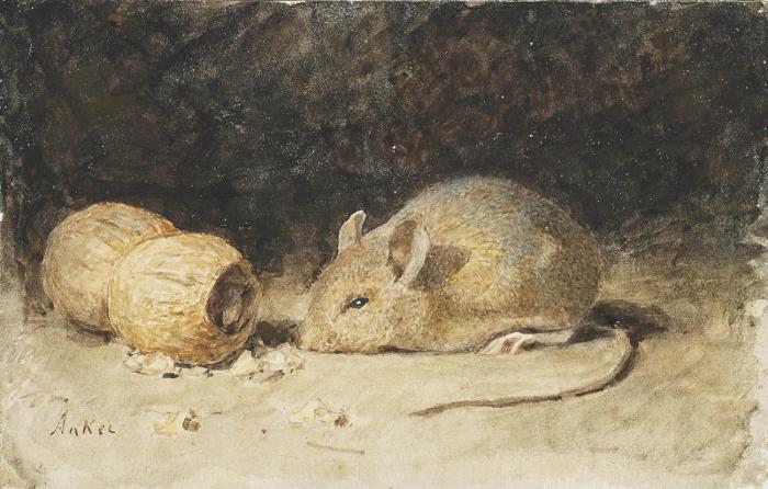 Albert_Anker (1831~1910)-700