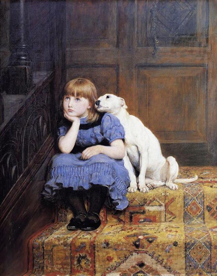 Briton Riviere (1840~1920)- 700