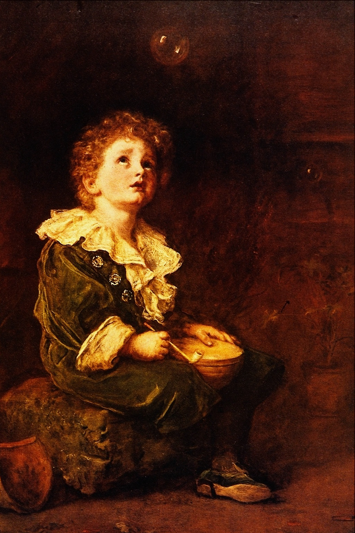 John Everett Millais -Bubbles, 1886.700