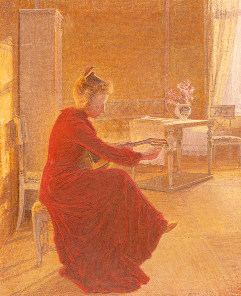 Johan Axel Gustav (1831-1913) Swedish painter