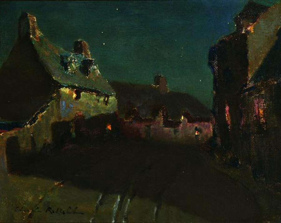 Charles-Rollo-Peters-nocturne-a-village-road-900