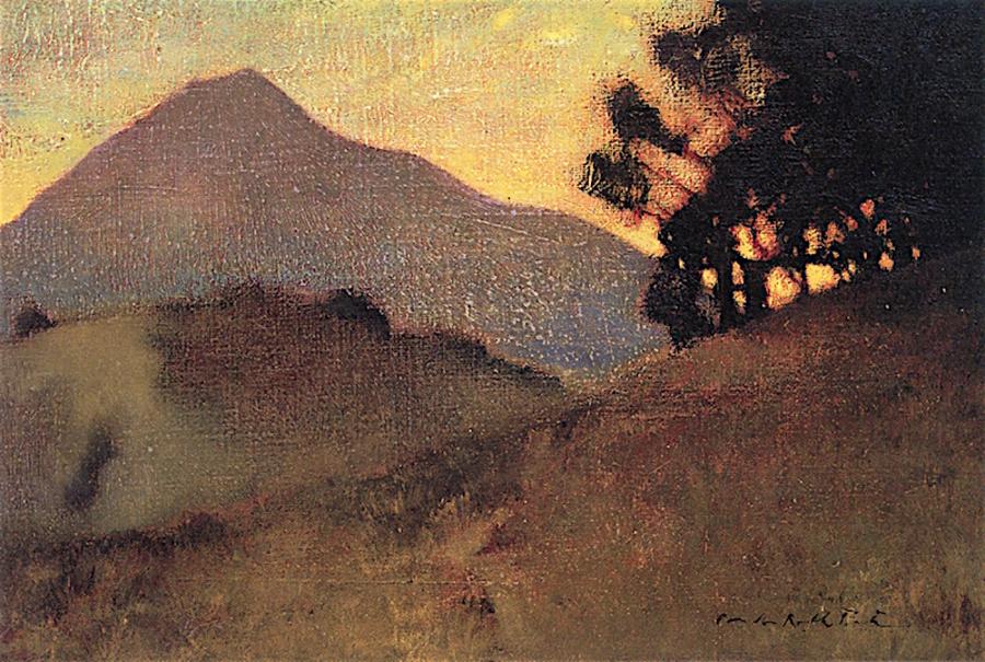 Charles-Rollo-Peters-tamalpais-sunset-900