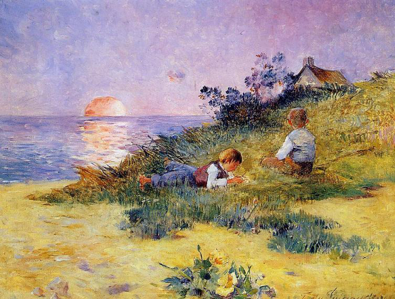 Puigaudeau -children_on_a_dune-800