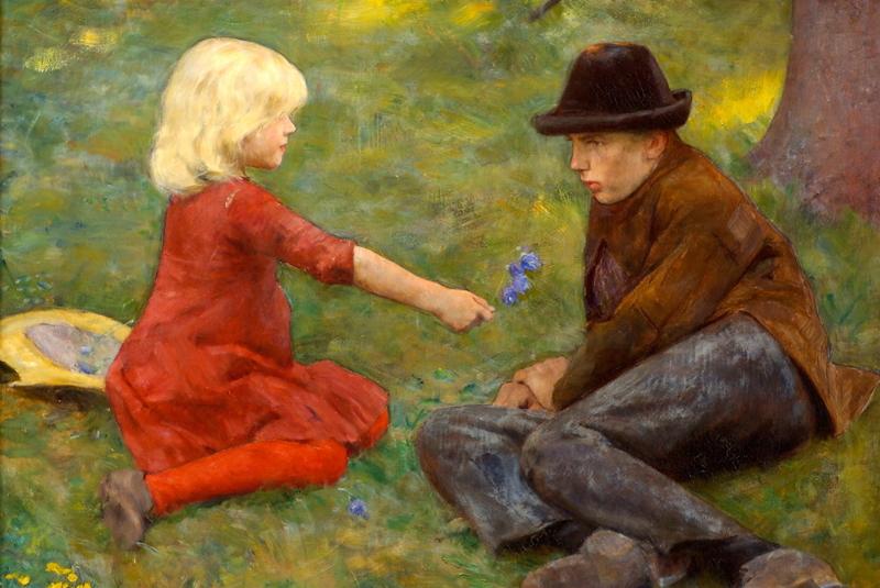 Erik Werenskiold (1855~1938) - 800