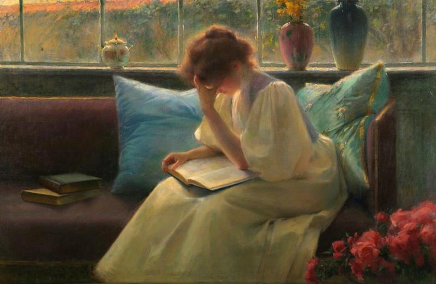 Franz Dvorak - Thoughtful Reader-900